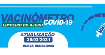 Atualização — Prefeitura de Limoeiro de Ajuru divulga balanço de vacinação